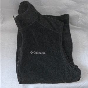 EUC Columbia Men's M Gray Fleece Vest